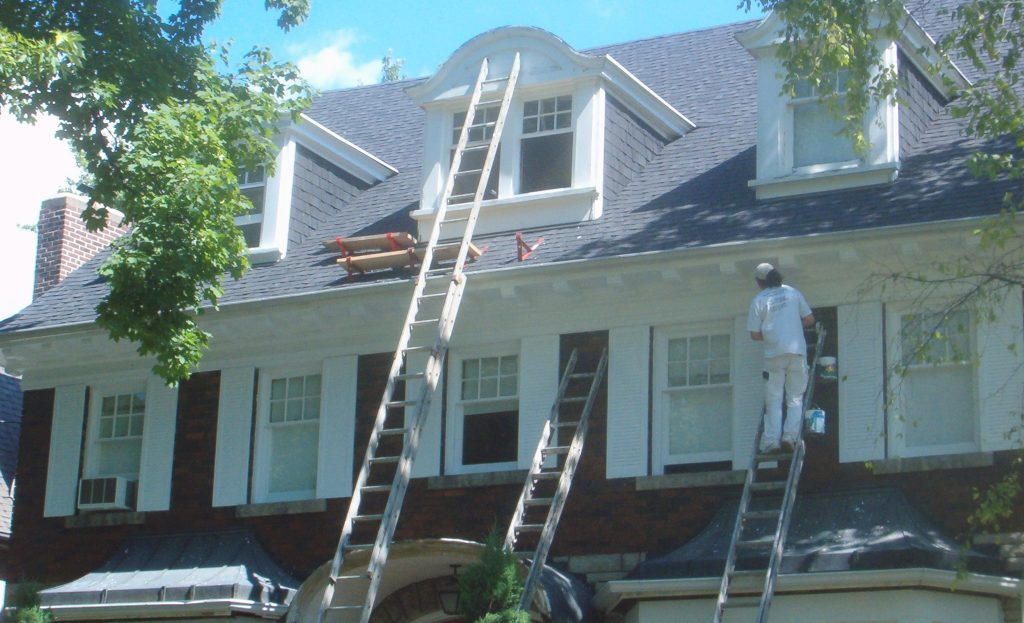 Chicago exterior painting contractor exterior painting services in chicago aardvark painting - Exterior home services ...