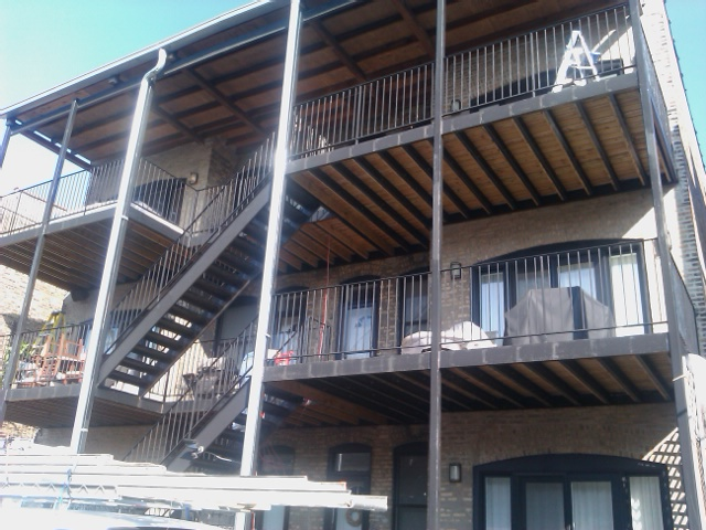 Metal Balcony Painters Chicago Aardvark Painting Inc.