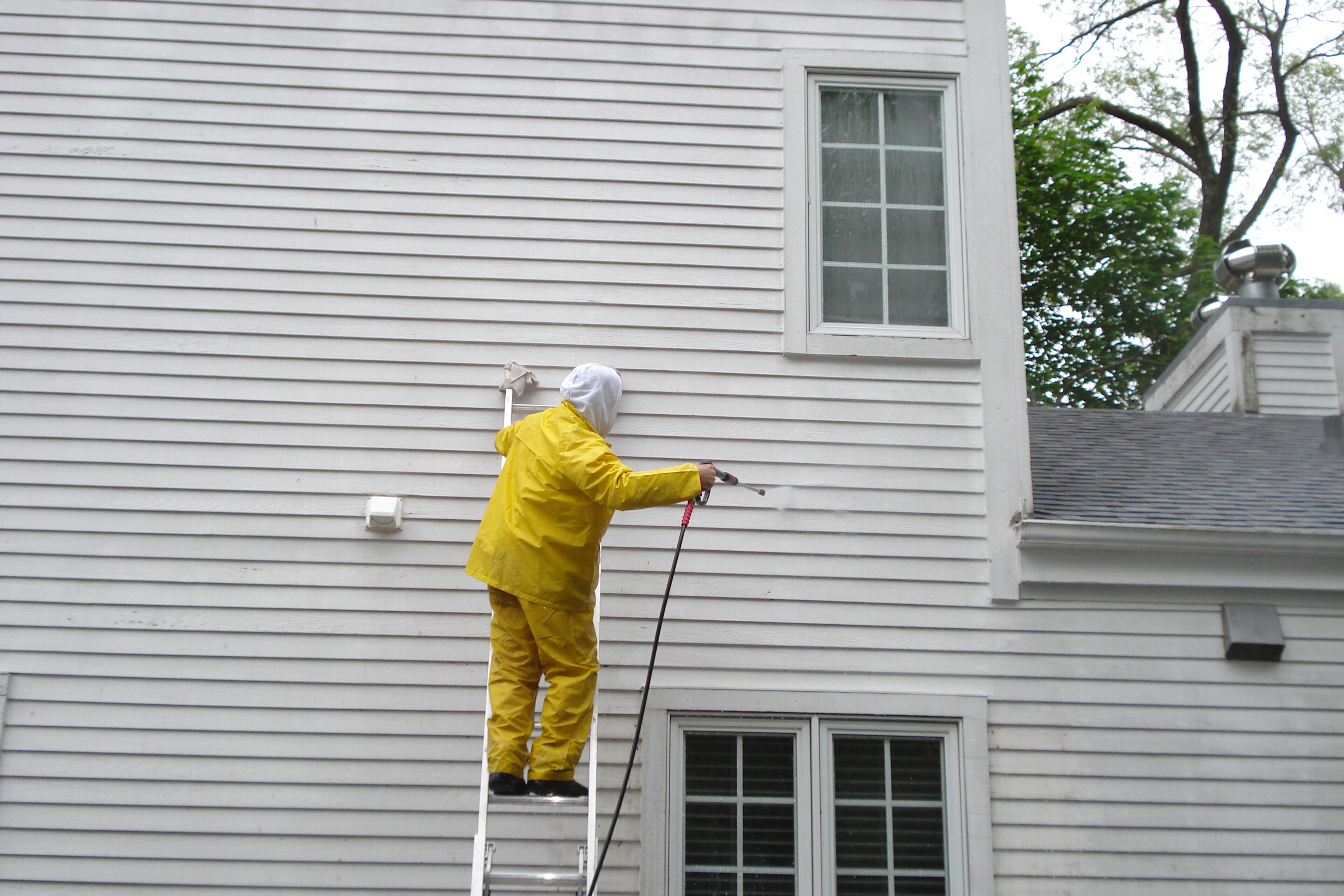 Power washing & Exterior Painting--Lake Forest--Aardvark Painting in--Lake Forest Painting Contractor