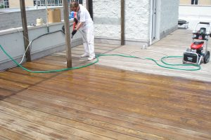 rooftop power washing lincoln park 1 300x200 Deck Staining Chicago