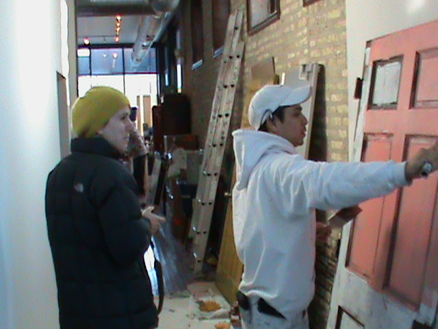 "Interior Painting Chicago Restaurant Painters Chicago ""Antique Taco"" Aardvark Painting Inc."